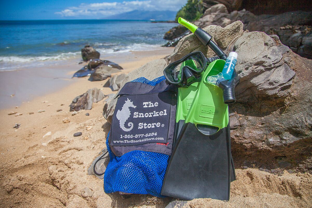 Maui Snorkel Rental - The Snorkel Store - Backpack Tote